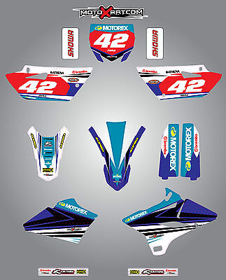 AU149.40 • Buy YAMAHA YZ 85  - 2015 - 2016 STRIKE Style Stickers Kit Full Custom Graphic Kit