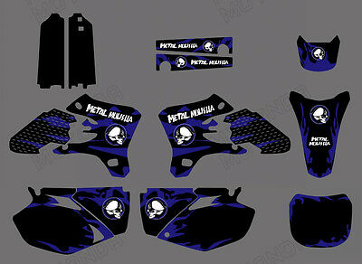 AU69.99 • Buy Decals Graphics Backgrounds For Yamaha Yz250f Yz450f Yzf250 Yzf450 2003 2004 05