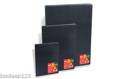 Reeves Hardback Sketchbook A3 A4 A5 Art Paper Canvas Drawing Painting Quality Co • 12.99£