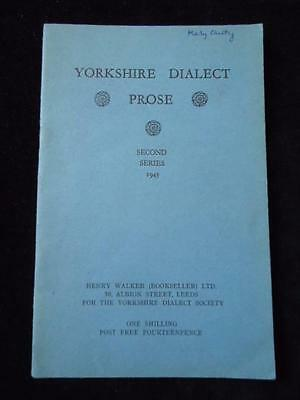 Yorkshire Dialect Prose 1945 • 7.99£