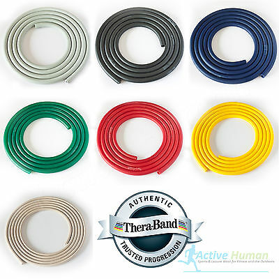 $ CDN8.53 • Buy Theraband Resistance Tubing Exercise Pilates Fitness Physio Thera-Band Catapult
