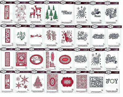 CREATIVE EXPRESSIONS Craft Dies By Sue Wilson THE FESTIVE COLLECTION Clearance • 7.99£