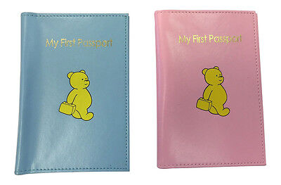 AU3.59 • Buy 1 X My First Passport Baby Toddler Passport Cover Protector Holder 7414