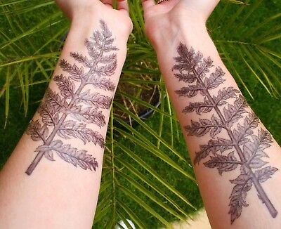 Print Your Own INKJET Tattoos! - Movie FX Temporary Tattoo Transfer Paper 5 A4 • 14.99£