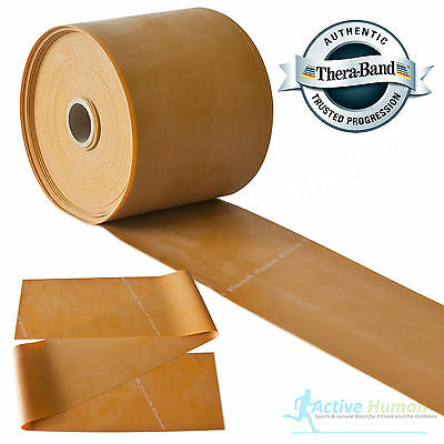 $ CDN10.24 • Buy Theraband Resistance Bands Exercise Gym Physio Thera Band Strips Catapult Gold