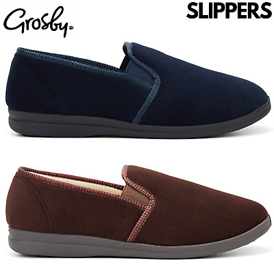 AU30 • Buy GROSBY Percy Mens Slippers Shoes Indoor Outdoor Casual Slipper Moccasins
