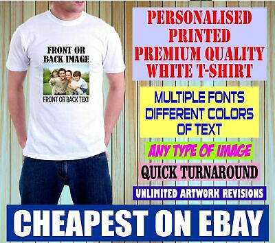 Personalised Custom Printed T-shirts, Stag Hen Do, Charity Run Adults & Kids Top • 6.99£