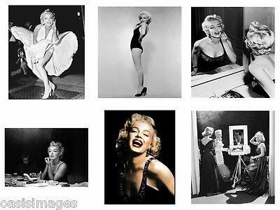 £4.99 • Buy MARILYN MONROE Photoprint, Iron On Transfer Or Sticker, 12 Choices Of Picture