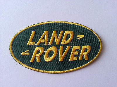 LAND ROVER SEW ON PATCH (b) • 3.49£