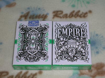 $ CDN27.99 • Buy 1 Deck Green Empire Bloodlines Playing Cards By Lee McKenzie S102297-乙C3