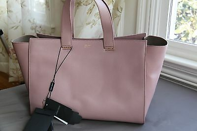 NWT Giorgio Armani All Leather Inside And Out Shoulder Bag Handbag   2000+tax • 1 278477b6f8173