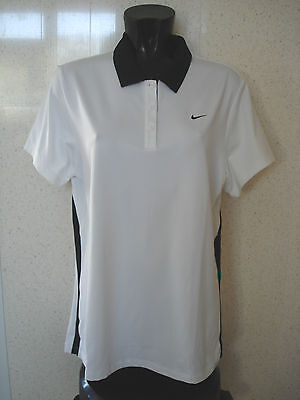 NIKE Border Tennis Polo Shirt /Top Girls Women's 4 - 6 NEW • 15.99£