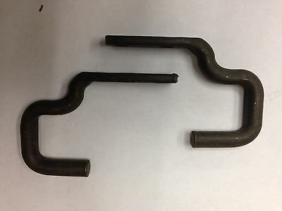 $28.50 • Buy Jeep Willys M38A1 Original Rear Seat Hooks (PAIR) G758 NOS