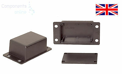£5 • Buy Small Tiny ABS Plastic Enclosure Project Boxes With Mounting Flanges- UK Made