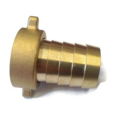 Brass Hose Tail Water Connector 2 Piece Female | For Garden Taps • 7.87£