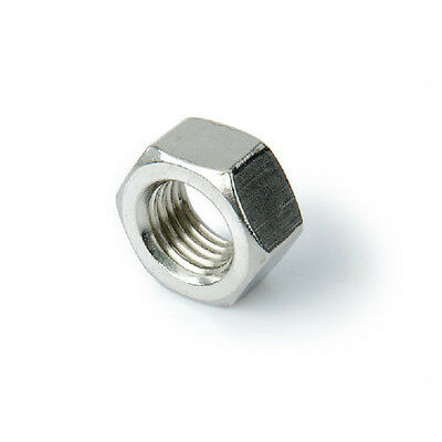 $4.99 • Buy New DIN934 M1.6 M2 M3 M4 M5 M6 M8 M10 M12 Hex Nuts Metric A2 Stainless Steel