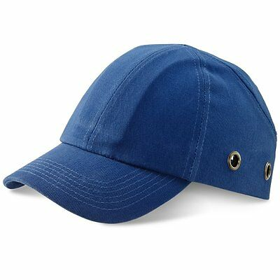 ROYAL BLUE Safety Baseball Cap Bump Hard Hat Lightweight Head Protection  • 9.99£