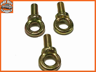 Seat Belt Harness Racing Eye Bolt  Fia Approved X3 • 5.06£