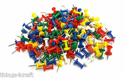 Noticeboard Push Pins Mixed Colours Choose Pack Size UK Seller • 0.99£