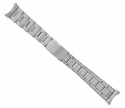 $ CDN60.26 • Buy Oyster Watch Band Stainless Steel For Vintage 34mm Rolex Date 19mm  Rivet Steel