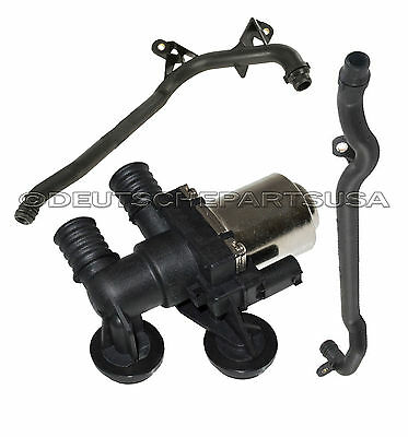 $159.99 • Buy HVAC HEATER CONTROL VALVE SOLENOID + WATER ENGINE INLET COOLANT PIPE E46 Xi - 3