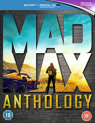 Mad Max Anthology (Blu-ray) Mel Gibson, Tom Hardy, Charlize Theron • 21.99£