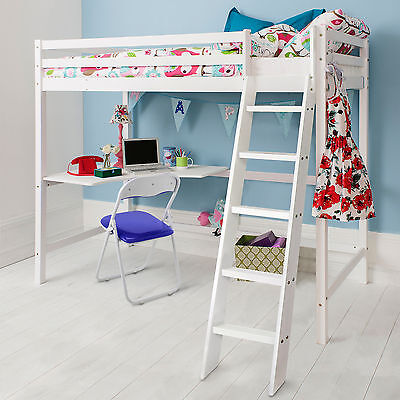£349.99 • Buy High Sleeper Cabin Bed With Desk Kids Bed - Thomas In Choice Of Colours -