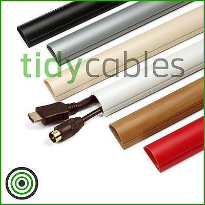 £1.49 • Buy D-Line 30x15 TV Cable Tidy Cover Wire Hide Trunking 1m, 1.25m, 1.5m Lengths