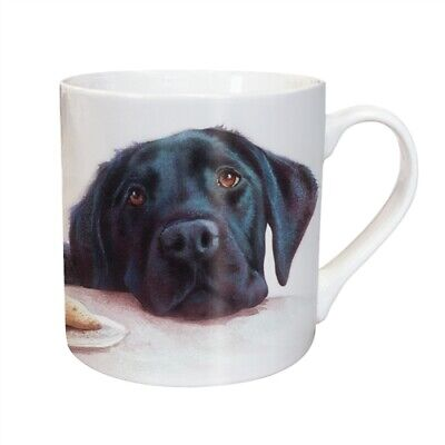 Black Lab Mug - Ceramic - A Great Gift For A Labrador Dog Lover - New - Boxed • 8.99£