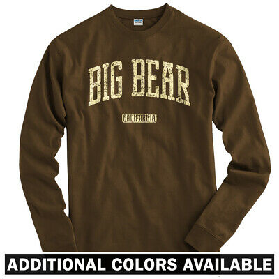 Big Bear California Long Sleeve T-shirt LS - San Bernardino County - Men / Youth • 24.53£