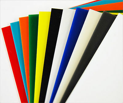 £6.41 • Buy A4 & A3 Acrylic Coloured Tinted Clear Perspex Plastic Cut To Size 297 210 420 Mm