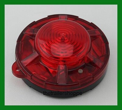 $15.95 • Buy Maxxima 3.50  Red Round Battery Operated Emergency Magnetic Flashing Light