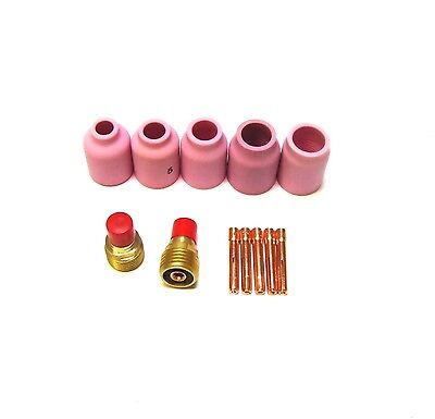 £10.90 • Buy Front End Spares - Gas Lens Parts Kit For WP9 & WP20 Tig Torch (B19)
