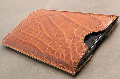 AU50.93 • Buy HTC One Mini (M4) Leather Phone Cover Pouch Case Cover Braun