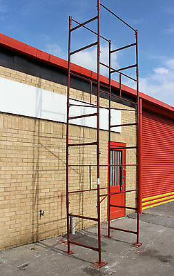 NEW D.I.Y Steel Scaffold Tower Scaffolding Tower 4x2'6x18'wh  • 225£