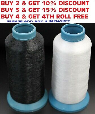 Nylon Invisible Sewing Thread 0.10mm/0.12mm/0.15mm/0.20mm/0.30m BUY 3 GET 1 FREE • 5.99£