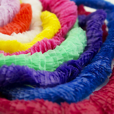 Hawaiian Leis Tropical Luau Party Favor Wedding Graduation Necklaces BULK LOT • 14.32£