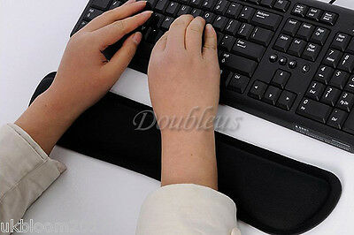 £6.99 • Buy Wrist Raised Hands Rest Support Comfort Pad Cushion For PC Keyboard Comfort