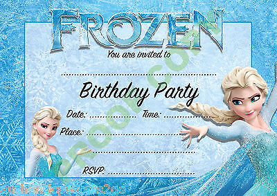 KIDS PARTY Pack Of 10 INVITATIONS Children Invites VARIOUS • 1.99£