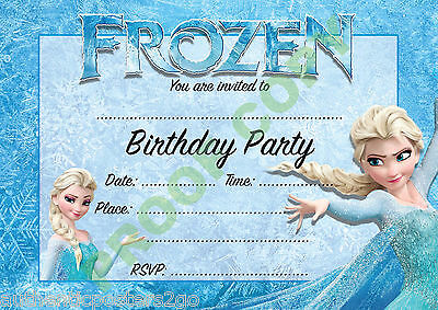 £1.99 • Buy KIDS PARTY Pack Of 10 INVITATIONS Children Invites VARIOUS