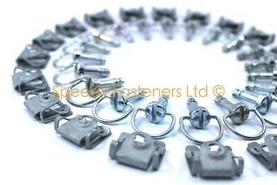 AU116.17 • Buy Lotus Elise S2 Quick Release Dzus Fasteners Bolts Rear Diffuser & Under Tray Kit