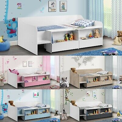 £209.99 • Buy Wooden Children's Bed, Stella Low Sleeper Single 5 Colour And 4 Mattress Options
