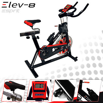 ELEV-8 Spin Home Exercise Fitness Bike Fitness Cardio Workout Machine  • 349£