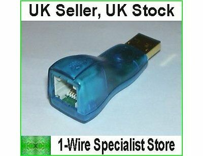 £25.95 • Buy DS9490R USB To 1-wire Adapter Dallas Maxim Digitemp DS18S20 DS18B20