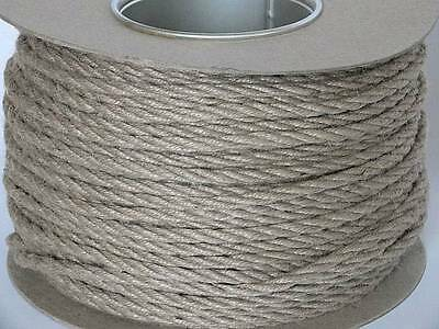 'everlasto' Twisted Jute Craft Rope/twine/cord - 5mm 6mm 7mm - Various Lengths • 24.36£