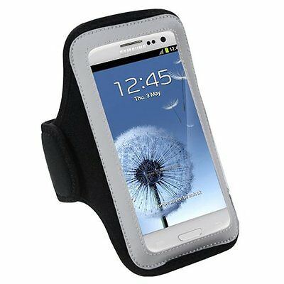 Samsung /S6 Note4/5 IPhone 6 Sports Gym Jogging Running Armband Arm Holder Case • 5£