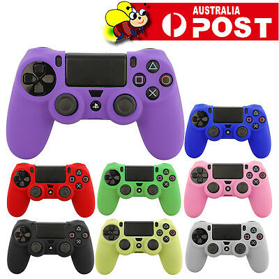 AU5.95 • Buy Soft Silicone Cover Skin Rubber Grip Case For Sony Playstation 4 PS4 Controller