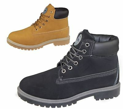 $ CDN32.36 • Buy Mens Boots Winter Warm Combat Hiking Work High Top Desert Lace Up Ankle Shoes