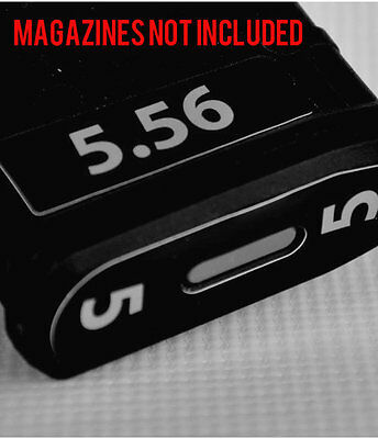 $11 • Buy 5.56 MAGAZINE STICKERS Fits MAGPUL PMAG 30 GEN M3  GREY NUMBERS 1-6