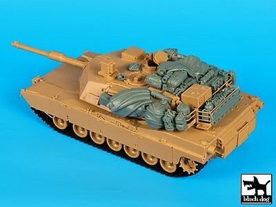 $42.46 • Buy Black Dog 1/35 M1A1 Abrams Tank Stowage And Accessories Set (for Dragon) T35154